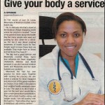 Give your body a service